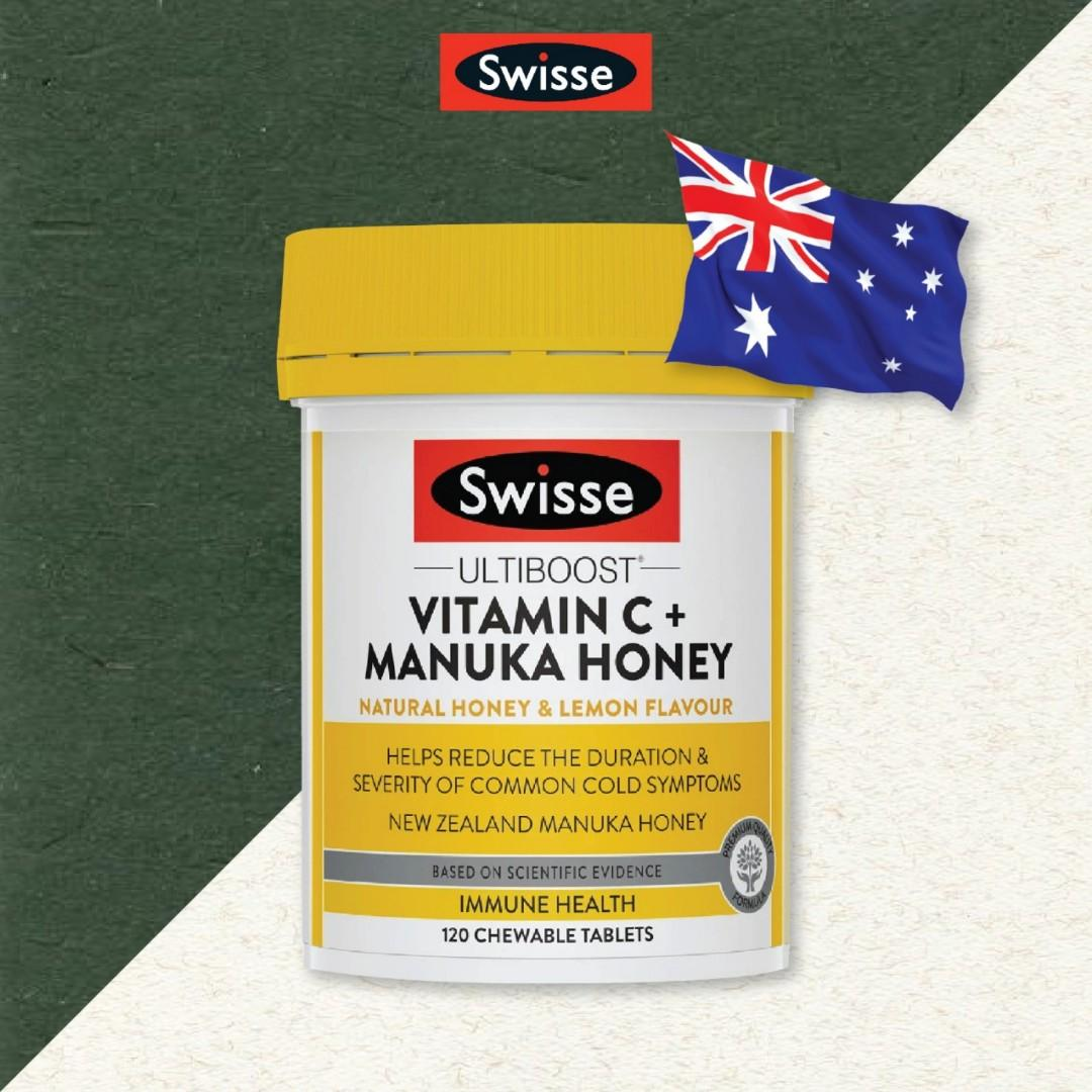 Swisse vitamin c + manuka honey