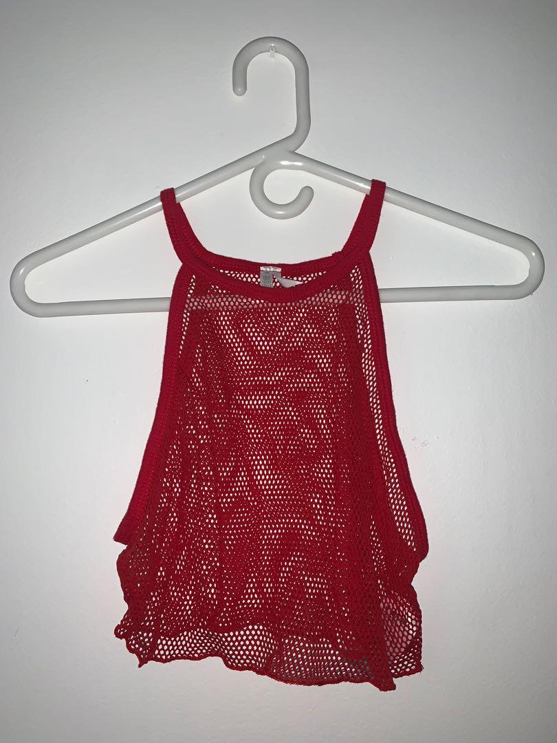Urban Outfitters Fish Net Top