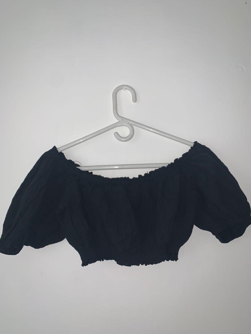 Urban Outfitters Puffy Off the Shoulder Top