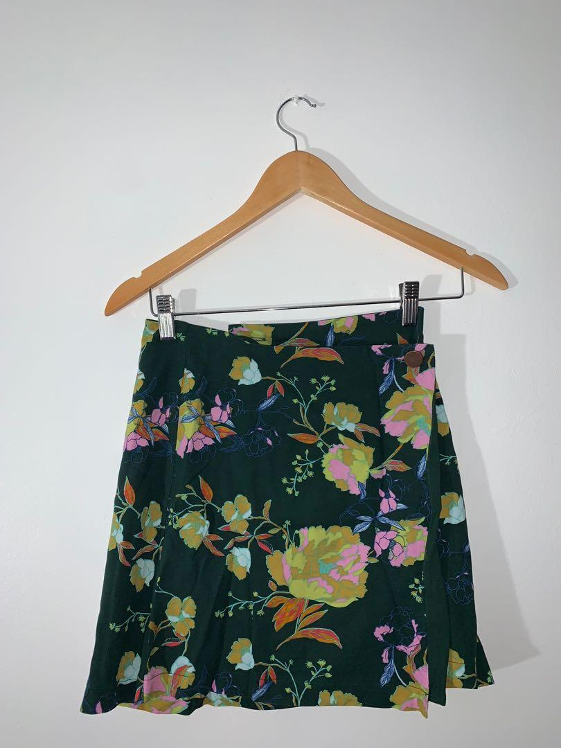 Urban Outfitters Wrap Around Skirt