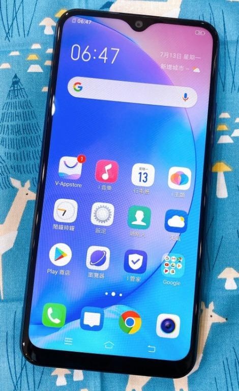 VIVO Y12 3+64G 6.35吋 湖水藍 #保固中 #二手機 #勝利店 88054