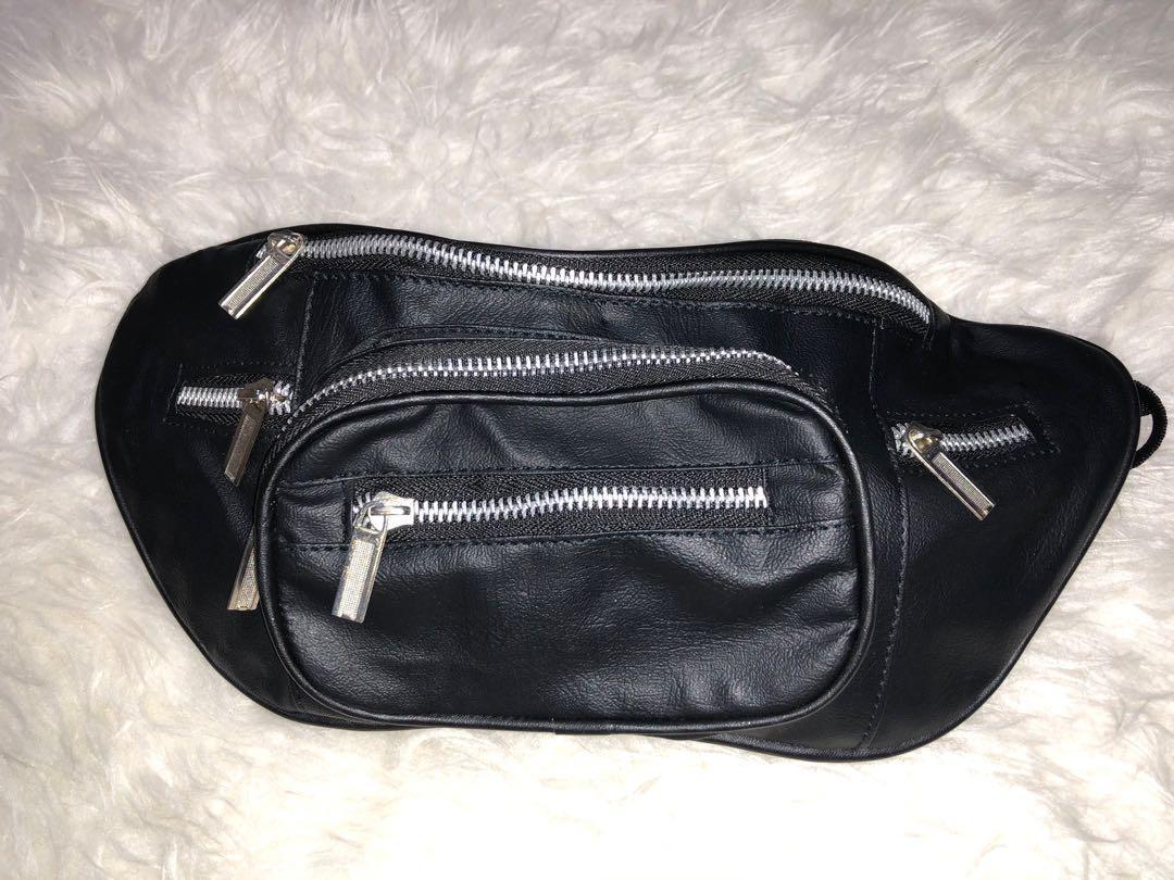 Waist bag leather