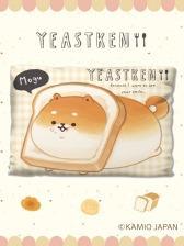 Yeast Ken - Gingham Check Big Cushion Vol. 1 ShibaKoppe いーすとけん。ギンガムチェックBIGクッション vol.1 A.オレンジ