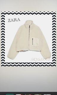 Zara 雙面毛毛外套