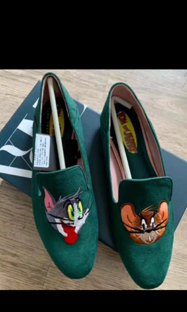 Zara tom jery shoes