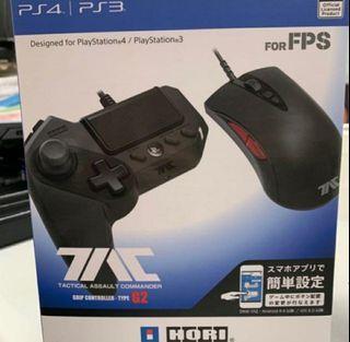 99%新 Hori PS4 TAC G2 FPS 手握控制器