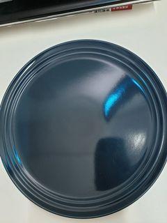 藏藍色深藍色大圓盤 nature kitchen
