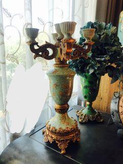 古典歐式燭台 居家擺飾