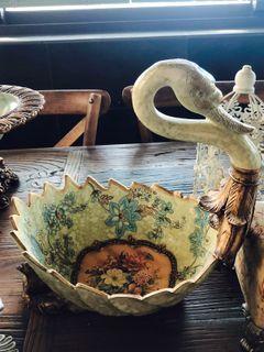 古典歐式水果盆 家飾擺飾 水果籃