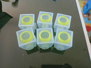 二手【英國 Brother Max】副食品分裝盒(小號6盒)  #防疫