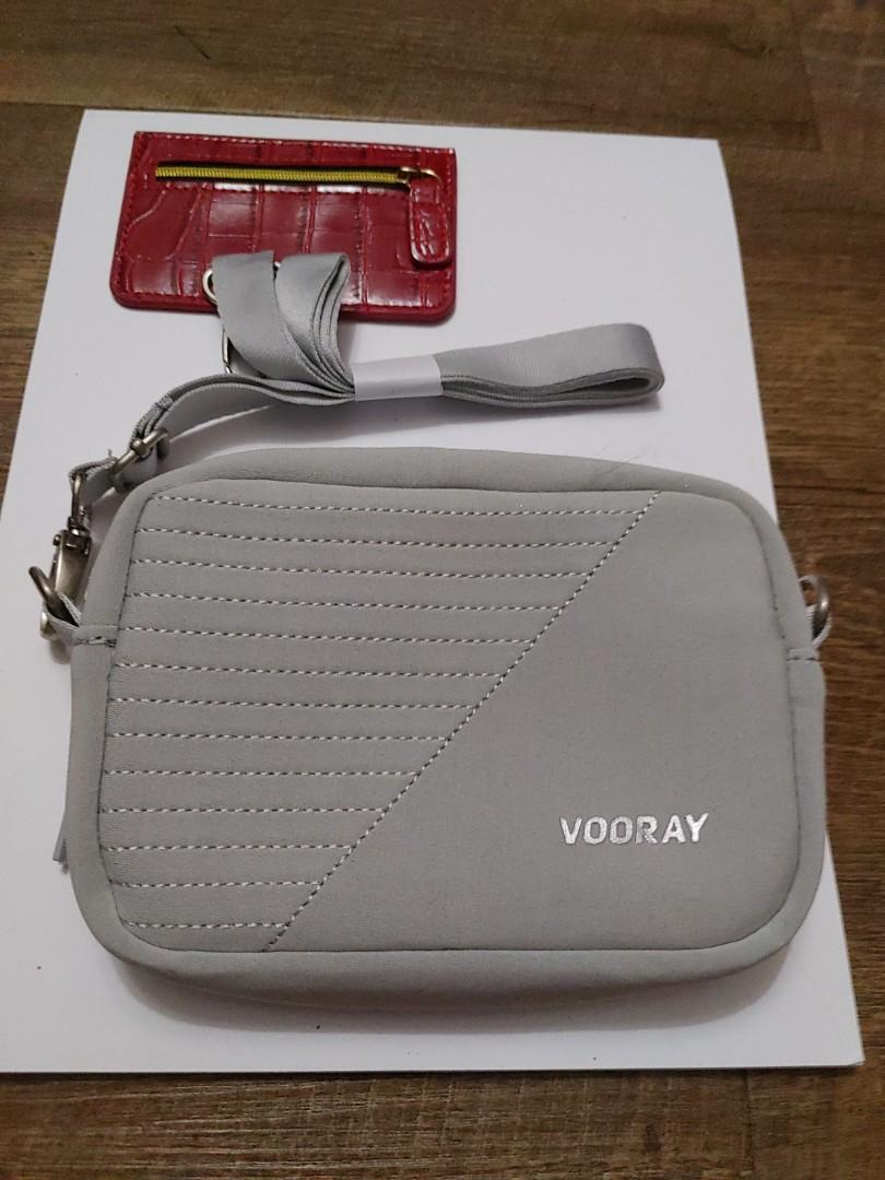 B.-low the belt chic change purse & a mini vooray sports over the shoulder bag