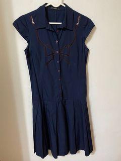 [正品]ECCO藍色洋裝