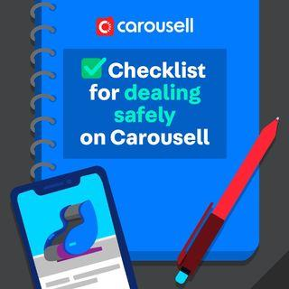 How to deal safely on Carousell