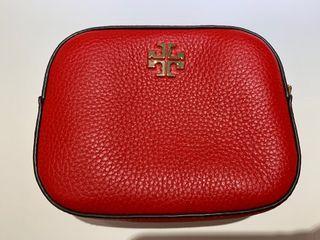 全新ToryBurch Tb 紅色相機包 迷你包 側背包 斜背包