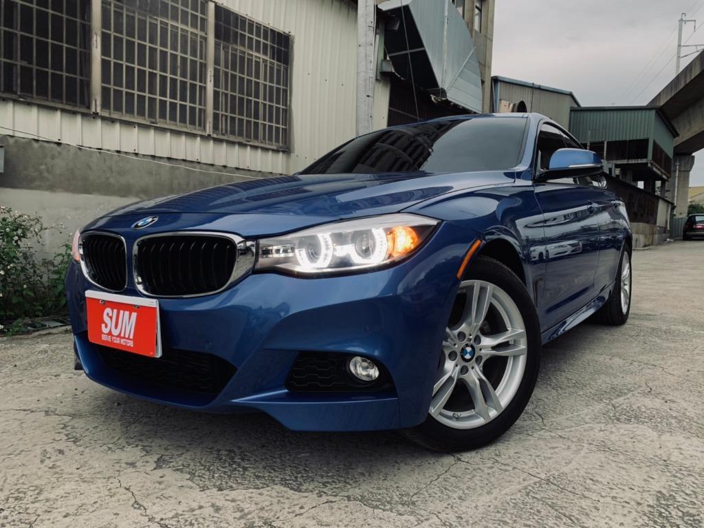 15年 BMW 328GT M版 2.0 (藍色)