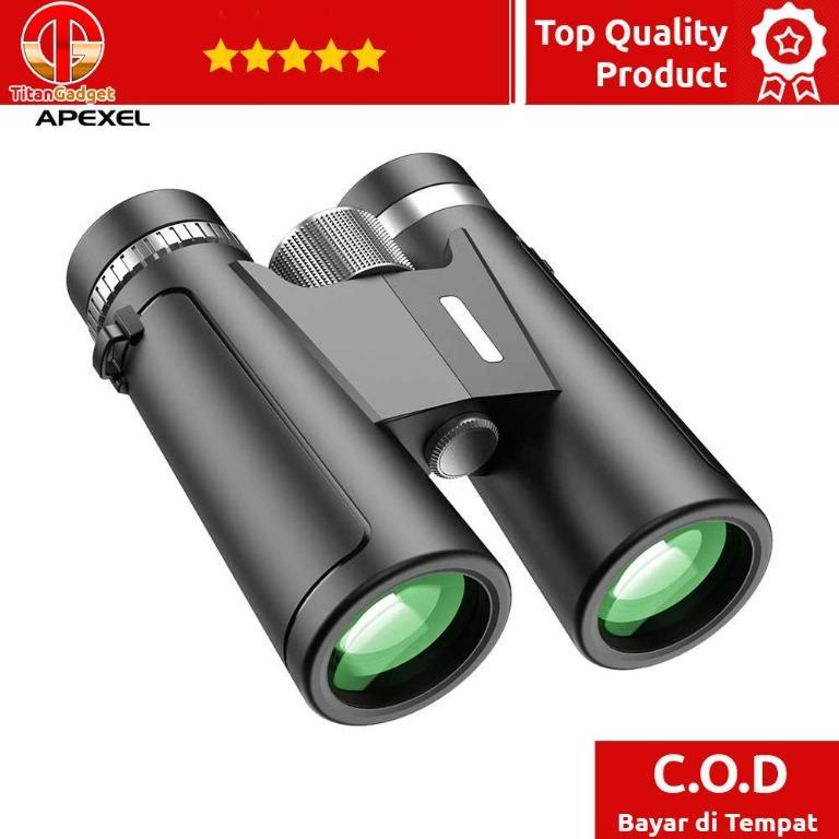 APEXEL Teropong Berburu Binoculars Compact Zoom 12x42 - APL-PR12X42 Titangadget
