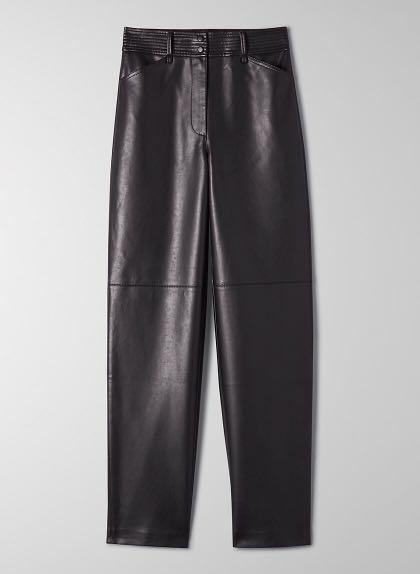 Aritzia Wilfred Funk Leather Pant