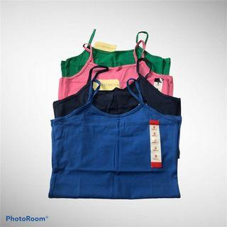 (3 for 200) BNWT Assorted Stretch Tank Tops