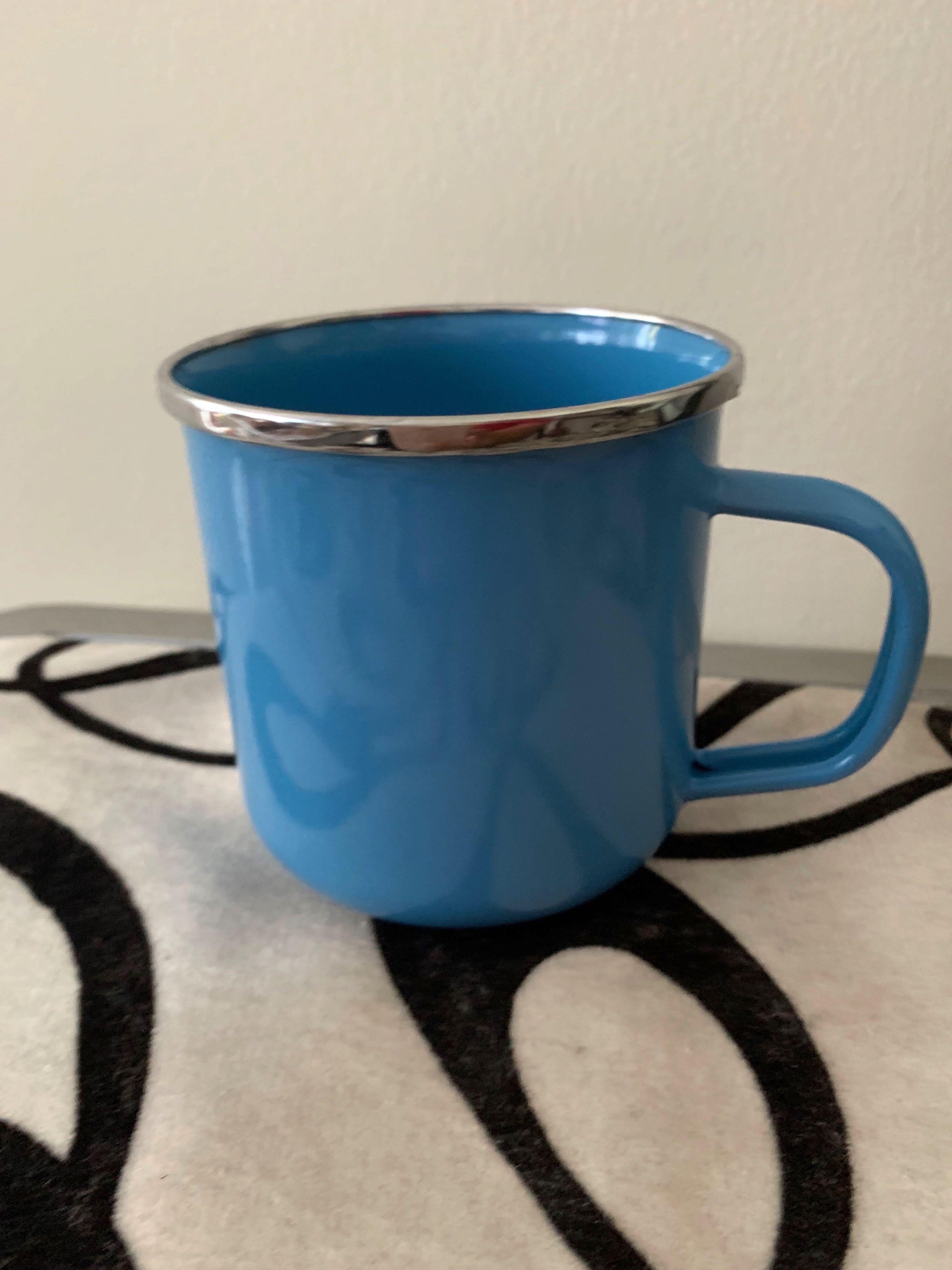 Kedaung Enamel Mug - Blue