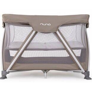 Nuna Sena Crib Baby Box Safari - Bonus Kasur
