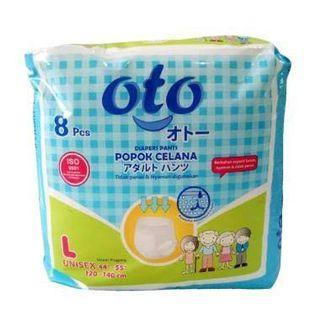 Oto Diapers Size L