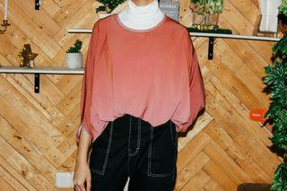 Oversized Sparkly Blouse