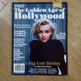 The Golden Age of Hollywood - The Saturday Evening Post ( Marilyn Monroe , Grace Kelly , Elizabeth Taylor and more)