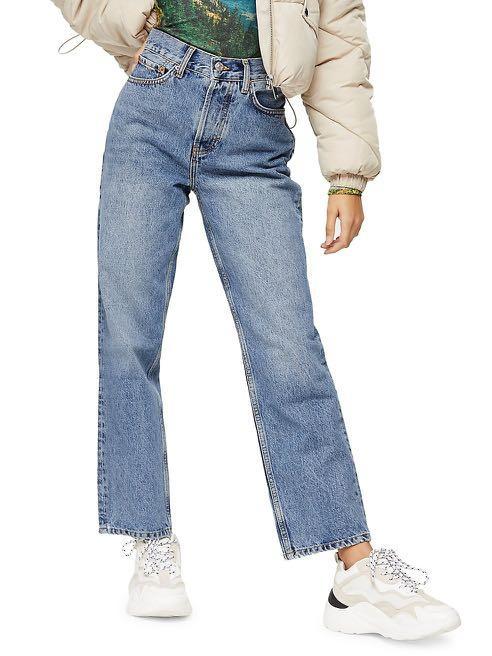 topshop dad jeans