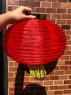 14吋 紅色燈籠 全新