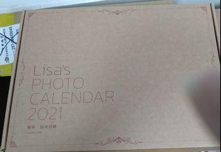 2021 super Lisa 林莎月曆