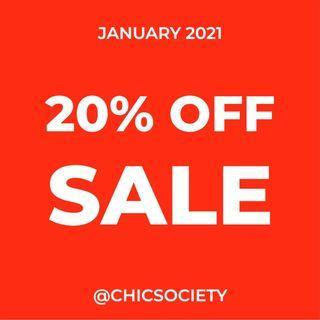 20% OFF SALE - Zara, Mango, H&M, Designer & Branded Overruns