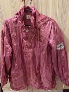 古著粉色閃亮外套