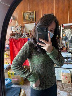 【二手/實穿】綠色的毛衣