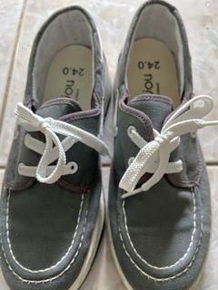 #灰色。綁帶造型 #懶人鞋