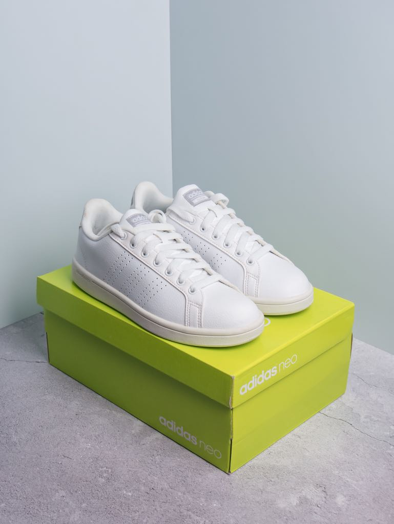 Adidas White Shoes (For Women) for Sale