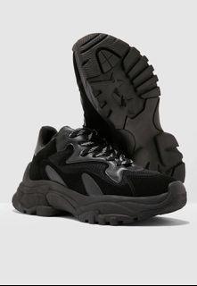 ALDO Chunky Sneakers (Black)