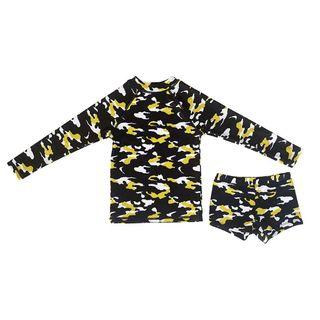 Anarkid Boys Navy Blue Camo Swimwear (Premium Australian Eco-Friendly Label)