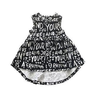 Anarkid Organic Girls Dancer AOP Sleeveless Dress (Premium Australian Eco-Friendly Label)