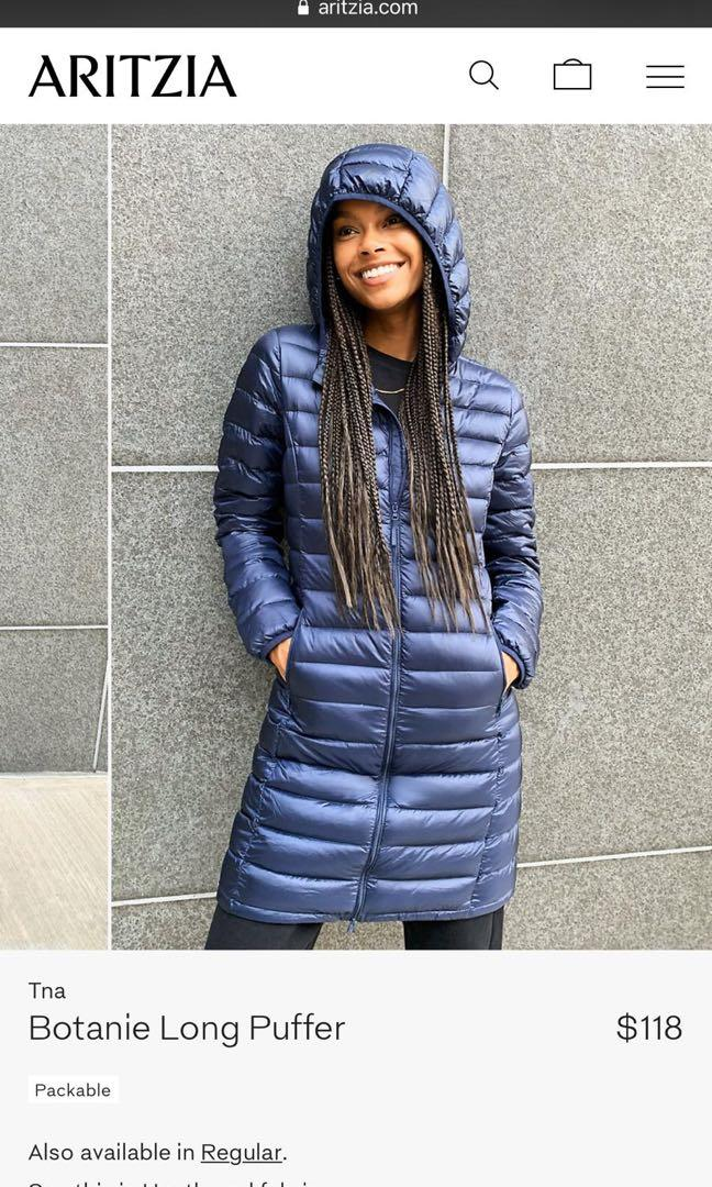 ARITZIA Botanie Puffer Jacket  S