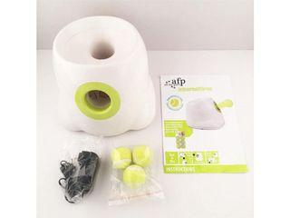 Automatic Mini Tennis Launcher Pet Toy Interactive Fetch Ball
