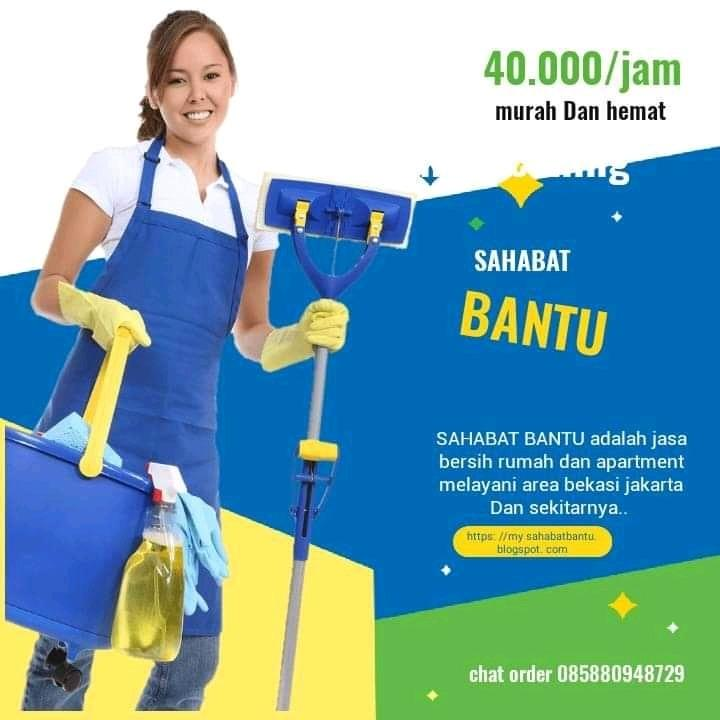 Bersihin rumah dan kost