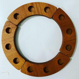 Birthday Ring from Woodensolutions