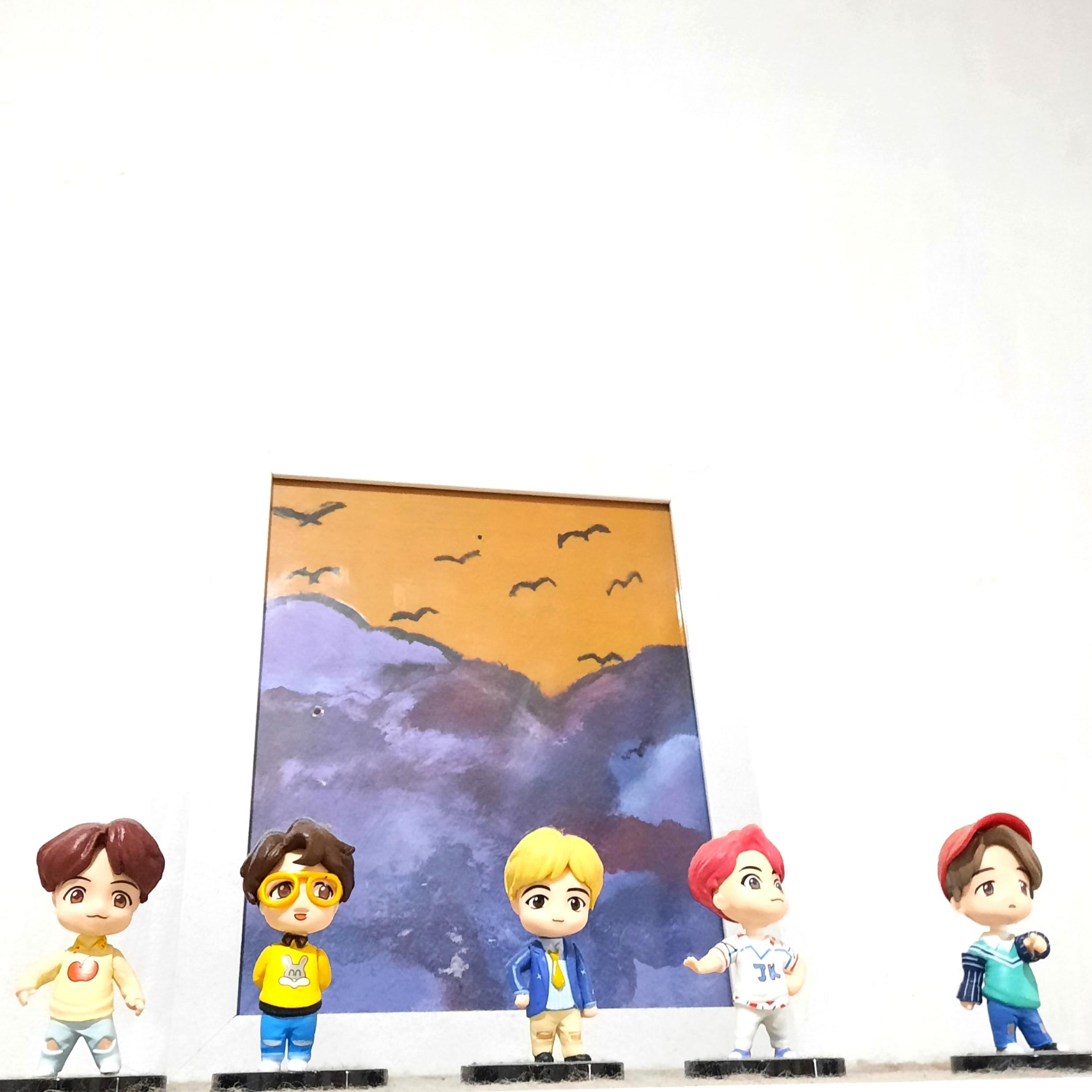 BTS Idol House of BTS Action Figure Unofficial
