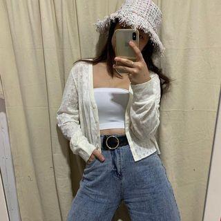 Crop cardigan
