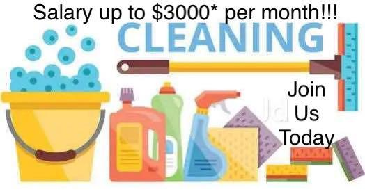 Household and commercial cleaners needed