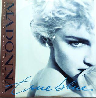 """Madonna VINYL - Maxi Single 12"""" LP-True Blue  /Ain't No Big Deal"""