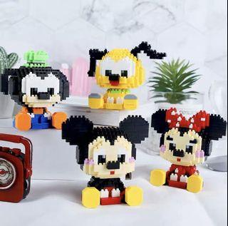 Mini blocks Disney's Minnie Mouse BNIB mini brick style