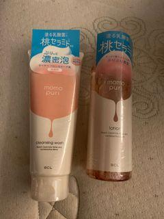 Momo Puri Cleansing Wash and Lotion Set