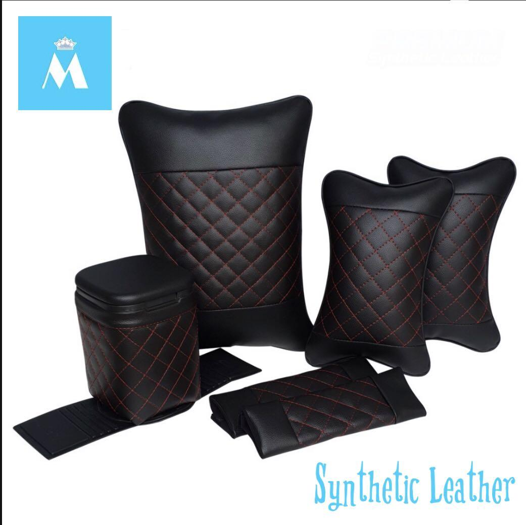 SALE! Set Mobil Bantal Dustbin Seat Belt Cover