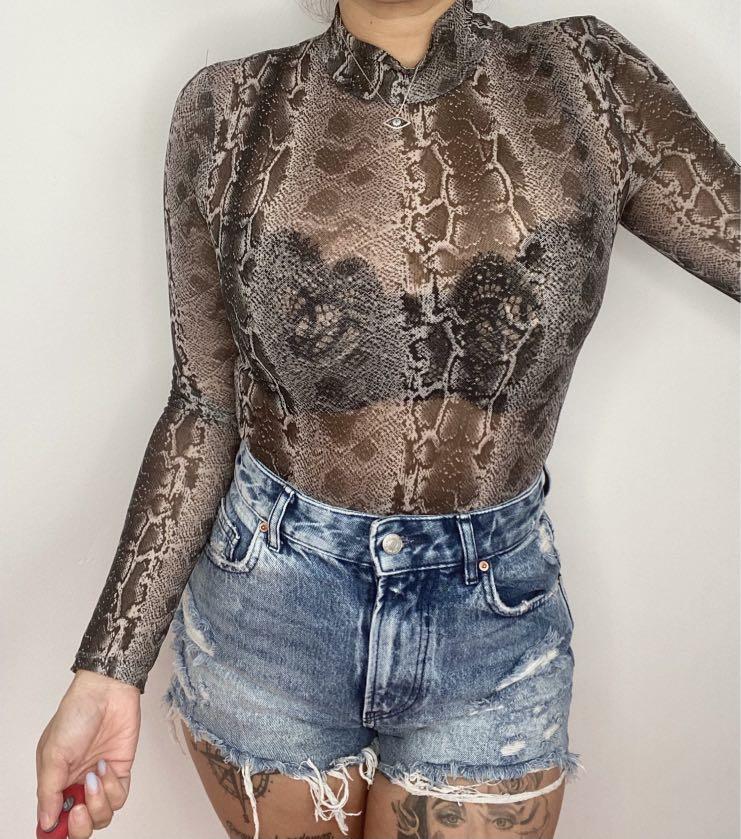 Snake bodysuit
